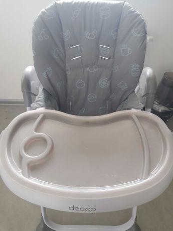 Krzesełko do karmienia decco