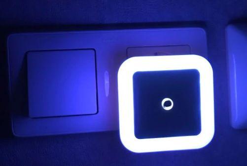 NOWY czujnik zmierzchu światła LED EU nocna lampka lampa do kontaktu