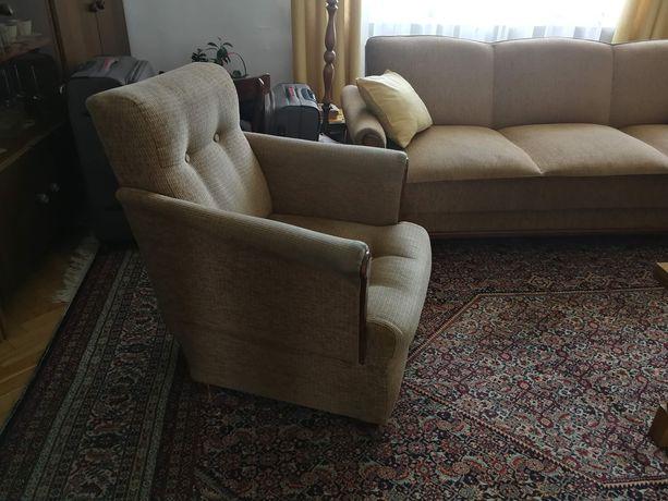 Meble retro, wersalka, fotel