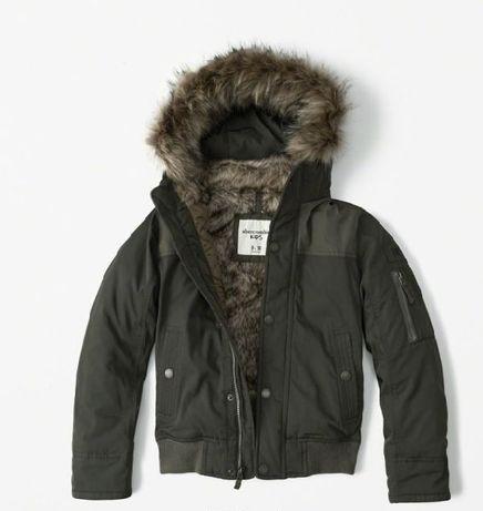 ABERCROMBIE Zimowa kurtka na 13-14 Lat jak NOWA