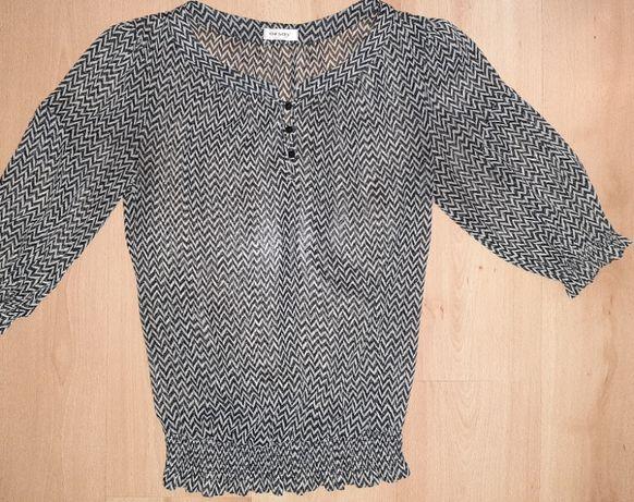 Zwiewna bluzka we wzorki Orsay rozmiar 36 Stan bardzo dobry