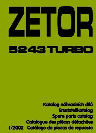 Zetor 5243 turbo katalog części wysyłka !