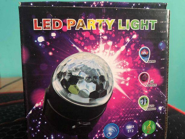 Projektor Dyskotekowy Kula Disco REFLEKTOR LED RGB