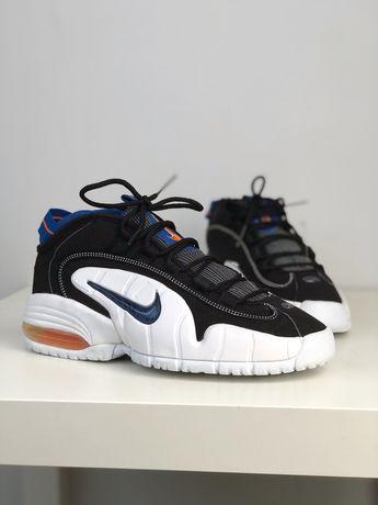 Nike Air Max Penny 1 B New York Knicks 9 Orange Blaze Royal 2005