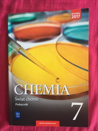 Podrecznik chemia 7 wsip