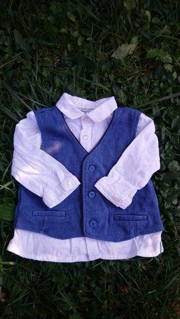 Продам детскую рубашечку на мальчика 80р.