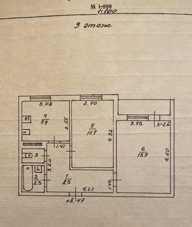 2х комнатная квартира, отличный вид, Теплодар