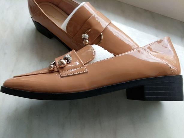 Новые детские женские туфли лоферы для девочки