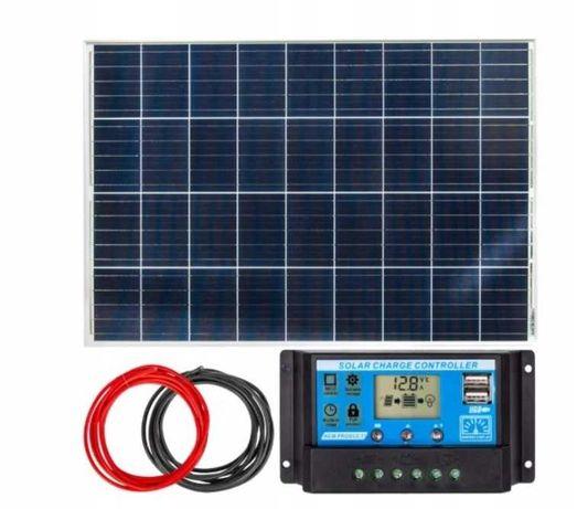 Panel solarny bateria słoneczna 100W 12V Regulator