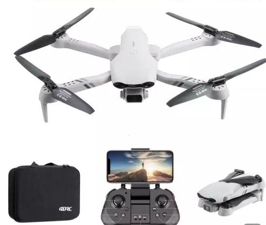 Dron F10 2021 Wifi FPV 2km zasięg 2×kamera 4K Powrót Zawis