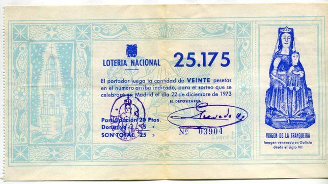 Bilhetes de lotaria
