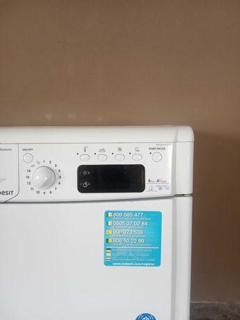 Máquina de lavar roupa LG e máquina de secar Indesit para peças