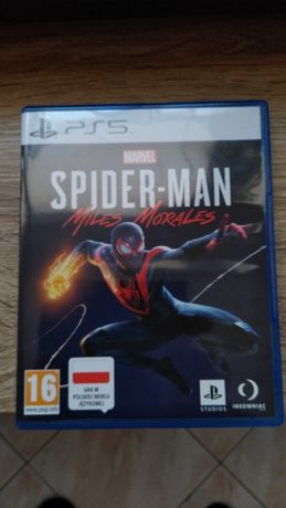 Play Station 5 - Spiderman Miles Morales Zamiana/Wymiana
