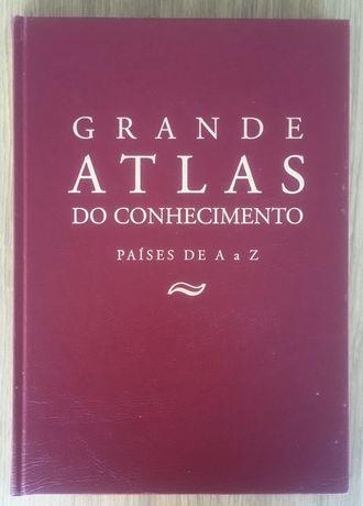 """Enciclopédia """"Grande Atlas do Conhecimento Países de A a Z"""""""