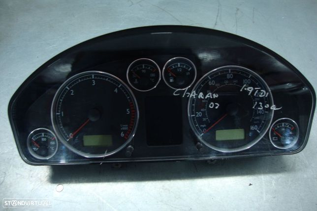 Quadrante VW Sharan 1.9 Tdi, 130cv (inglês)