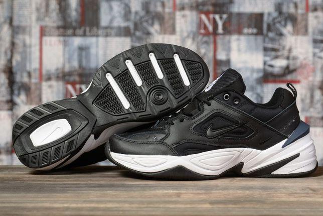 Nike Air, кожанные кроссовки мужские новинка.