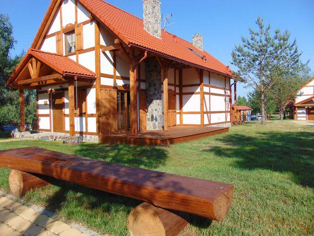 Domek całoroczny nad jeziorem -OZONOWANY-(Kaszuby)