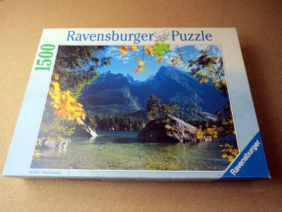 """Puzzle 1500 Ravensburger """"Hintersee"""" Blachownia - image 1"""