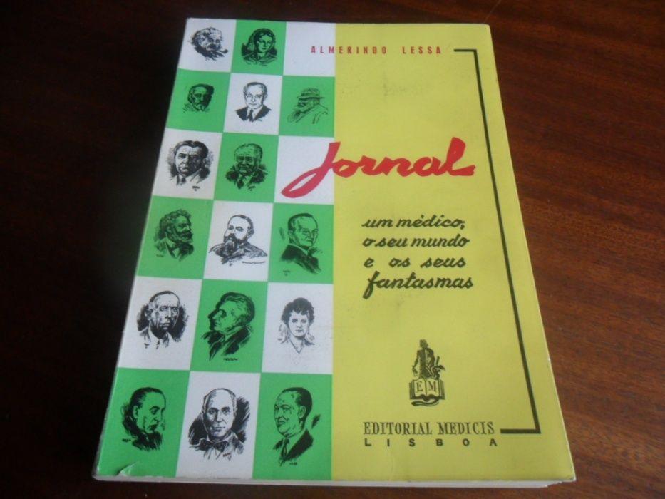 """""""JORNAL"""" 1947 a 1957 de Almerindo Lessa - 1ª Edição de 1958 Carcavelos E Parede - imagem 1"""