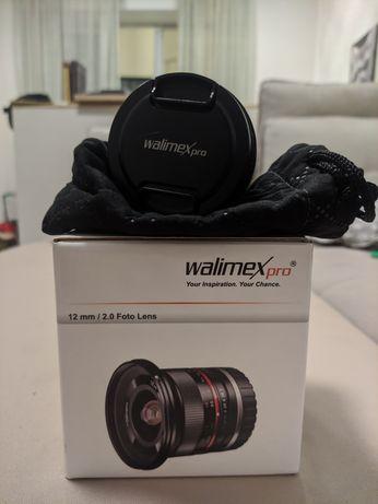 !!!ТОП!!! ЗНИЖКА!!! Ширококутний об'єктив Walimex Pro 12mm f/2.0