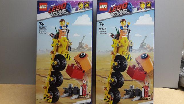 LEGO 70823 trójkołowiec Emmeta /Lego Movie 2
