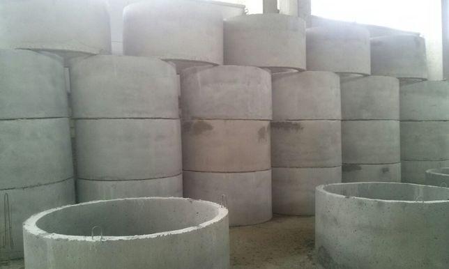 Кольца бетонные.плиты перекрытия. блоки фундаментные г.Борисполь