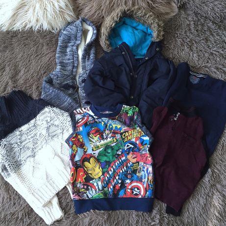 Пакет весенней одежды 4-5 лет парка свитер кофта