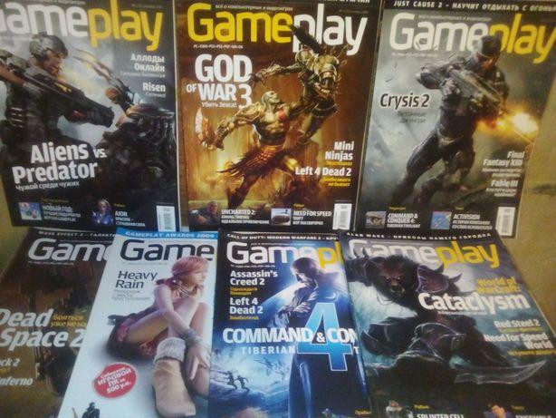 Продам журнал Gameplay +диск.