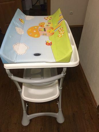 Пеленальний столик с ванночкой CAM