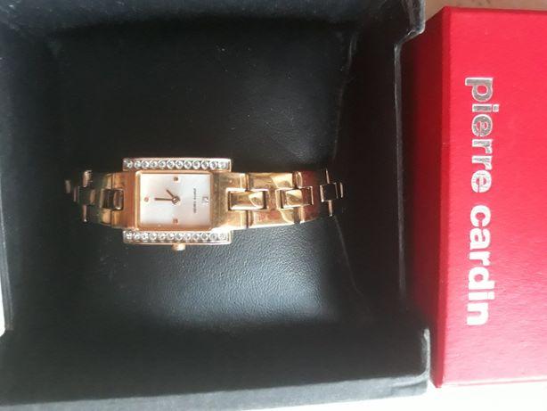 Pierre Cardin zegarek PC48732 oryginalny damski złota bransoleta
