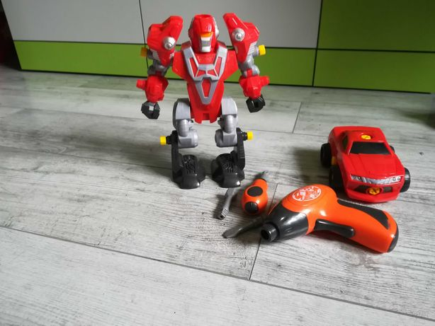 Dumeldiscovery robot, auto do skręcania