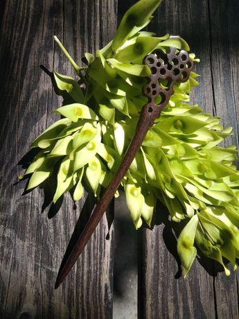 Деревянная шпилька китайская палочка украшение для волос
