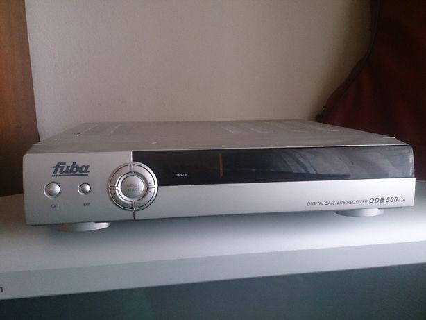 Dekoder Fuba-TV-satelitarnej+talerz-komplet-przesylka gratis