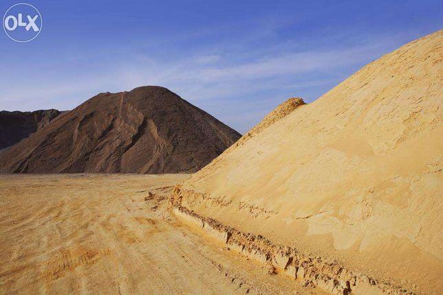 Piasek piach żwir czarnoziem torf koparka transport glina kamienie