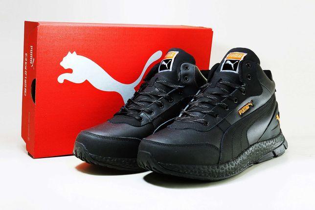 (638) ЗИМА кроссовки ботинки Puma Hybrid (41-46) - на меху