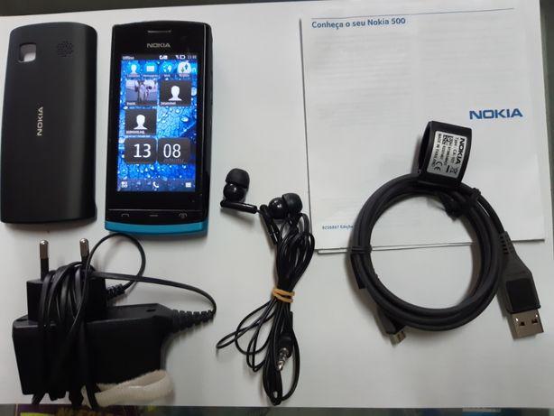 Telemóvel Smartphone Nokia 500