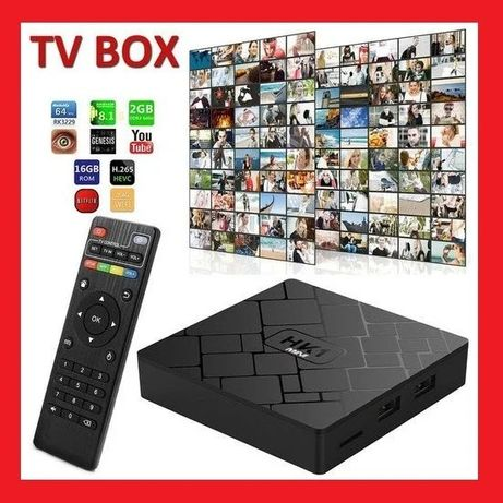 TV Box на Андроиде Mini 2Gb/16GB Смарт приставка, Тв бокс