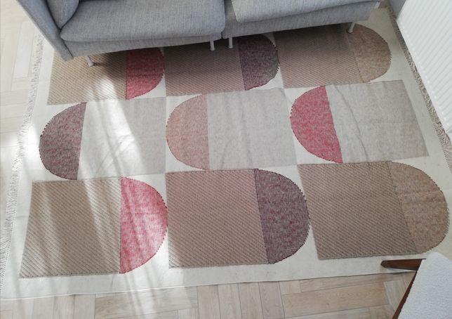Dywan wełniany beżowy Ikea Spangsbro