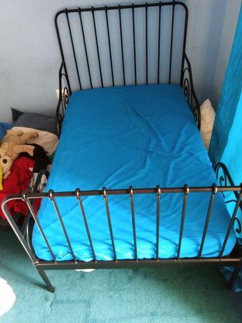 Cama Criança Extensivel Ikea Preta + colchao