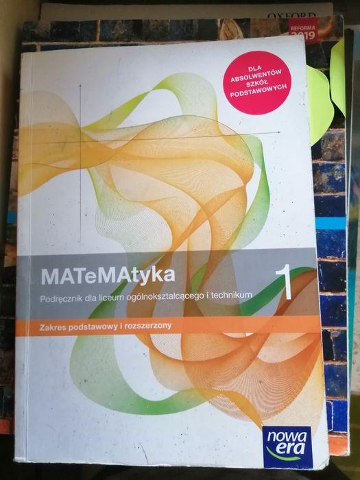 Sprzedam książke z matymatyki, zakres podstawowy i rozszerzony Pruszków - image 1