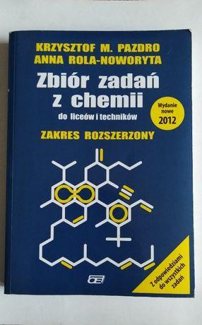 Zbiór zadań z chemii zakres rozszerzony K. Pazdro 2012