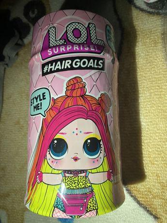 Капсула Lol с волосами 5 серия L.O.L оригинал привезена с Германии