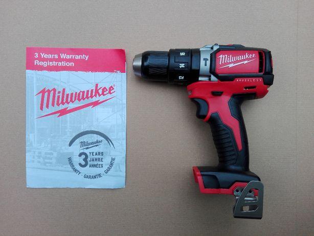 Nowa Wiertarko wkrętarka Milwaukee M18 BLPD2-0X z udarem promocja FV