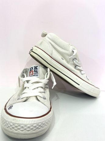 Trampki DKS 73 rozmiar 35 kolor biały