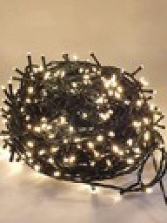 Lampki Choinkowe LED 480 szt. Ciepłe Białe Multifunction Wew-Zew