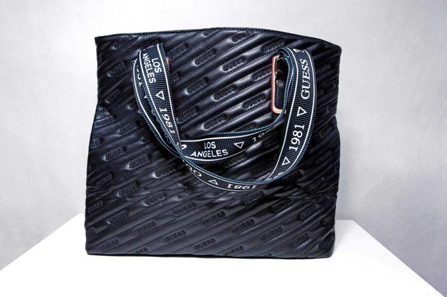 Nowa duża torba shopperka Guess A4