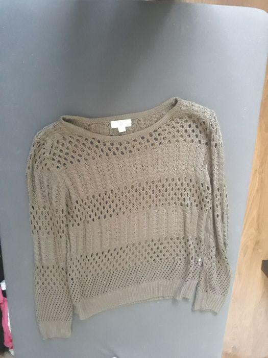 Sweter azurowy khaki Kraków - image 1