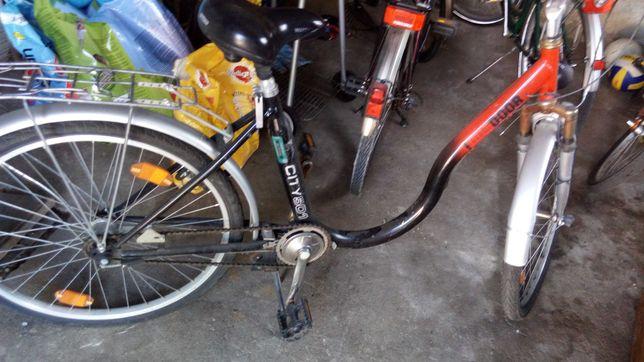 Rower niemiecki damka niska rama