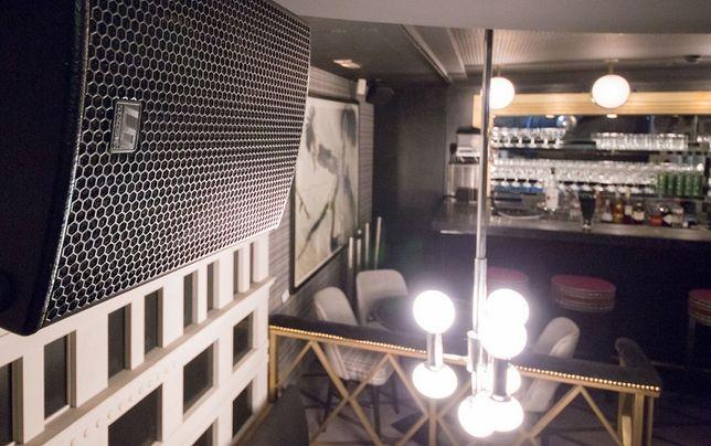 системы оповещения-установка звука в ресторанах,торговых залах..