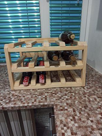 Підставка для вина (дерев'яна)